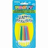 Espiral velas de cumpleaños con los