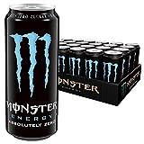 Monster Energy Absolutely Zero, 24er Pack (24 x 500 ml) Dose