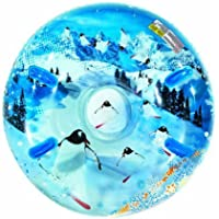 "Aqua Leisure Uncle Bob's Winter Inflatable Round Air Penguin Snow Tube Sled for 2 (Two) Riders on Sledding Hill, Fast yet Safe, with 4 (Four) Big Durable Grip Handles and Repair Kit, 48"" by Aqua Leisure-Domestic Toys"