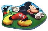 Jerry Fabrics Cuscino Decorativo per Bambini a Forma di Mickey and Friends, Poliestere, Multicolour, 34x19x5 cm