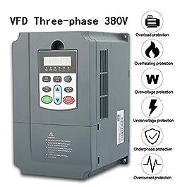 380V 5.5Kw Trifase Inverter Frequenza VFD,SKI600-5D5G/7D5P-4 7.5HP 13A Controllo Pid Universale Motore Regolatore…