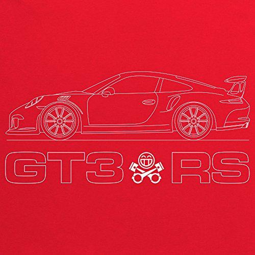 PistonHeads GT3 RS T-Shirt, Herren Rot