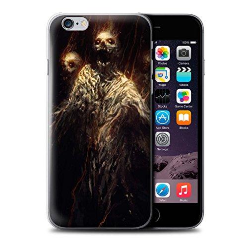 Offiziell Chris Cold Hülle / Case für Apple iPhone 6S / Ghouls der Furcht Muster / Dämonisches Tier Kollektion Ghouls der Furcht