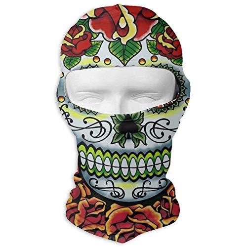 keiwiornb Balaclava Windproof Ski Mask-Balaclava Green Snake Full Face Masks Ski Headcover Motorcycle Hood for Cycling Sports Mountaineering