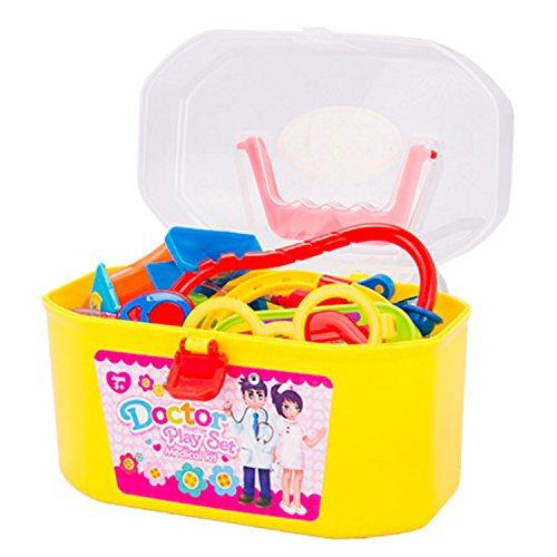 Kinder Kid Plastic Simulation Rollenspiel Doktor Medical Toy Kit pädagogisches Spielzeug Set mit Etui
