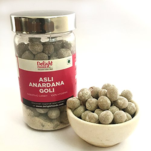 Delight Foods Asli Anardana Goli 125gm  available at amazon for Rs.75