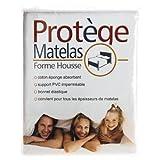 Protege Matelas - Protège Matelas Plastifié Imperméable Taille - 160 x 200 cm