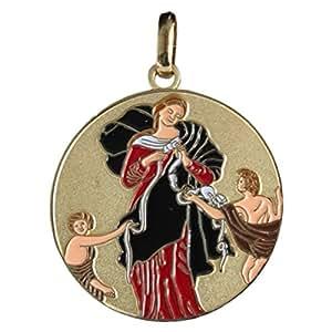 Médaille de Marie qui défait les Noeuds