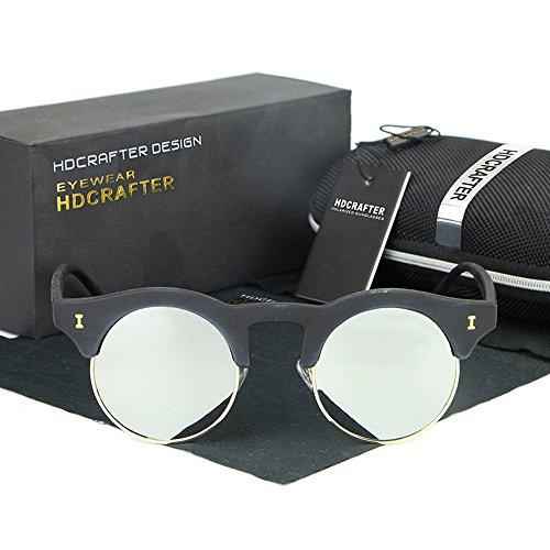 Frau, sonnenbrille, lässig, mode, retro, elastisch, draußen, grau, S52895