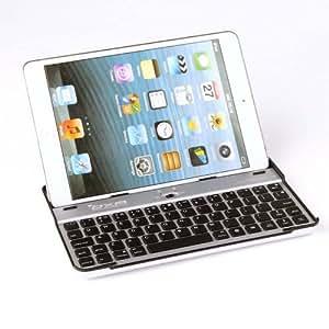 (Built-in Wireless Bluetooth Tastatur) OXA Schwarz Bluetooth-Tastatur mit Aluminiumlegierung Halter für iPad mini