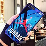 Coque iPhone 7 Plus Jordan Blu-Ray Soft Silicone Cover Case for iPhone 7 Plus Jump Man Phone Cases