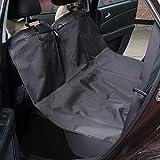 Hunde Autoschondecke, Kany Wasserdicht Hängematte Rücksitz Displayschutzfolie 'Pet Sitzbezüge für Car Verstellbare Träger (schwarz)