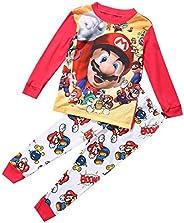 Motivo: cartone di Super Mario, per il tempo libero, abbigliamento da notte, per bambini, età consigliate: da