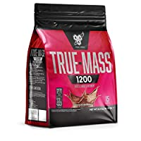 BSN True Mass 1200 Weight Gainer Whey Protein Powder with BCAA