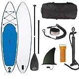 Die besten Paddle Boards für Anfänger - Board Stand up Paddling Surfboard Striker aufblasbar Alu-Paddel Bewertungen