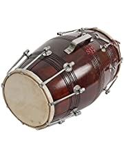 SG Musical Musical Tahli Nut Bolt Dholak With Tunning