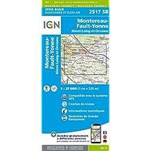Montereau-Fault-Yonne / Moret-Loing-et-Orvanne 2017: IGN2517