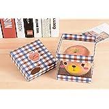 Patrón de dibujos animados pequeño Navidad de Apple Caja Piggy oso de plástico caja de regalo caja de almacenaje del color mezclado 1 Precio