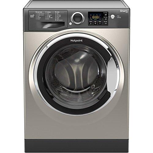 Hotpoint RSG845JGX 8kg 1400rpm Freestanding Washing Machine - Graphite