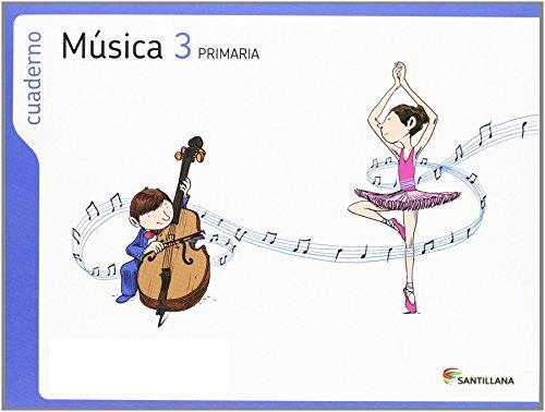 Proyecto Los Caminos del Saber, música, 3 Educación Primaria. Cuaderno par Varios autores