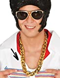Herren Goldkette Halskette Gangster Gangster Rapper Kostüm Kleid Outfit Zubehör