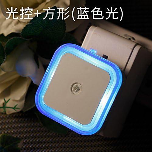 YU-K Parete Moderno LED luci poco vocale di le notte le di luci luci da parete,square,luce blu aeb981