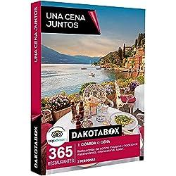 DAKOTABOX - Caja Regalo - UNA CENA JUNTOS - 365 restaurantes de cocina moderna y tradicional