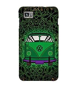 Indian Auto Van Fashion 3D Hard Polycarbonate Designer Back Case Cover for Lenovo K860
