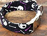 Hundehalsband: Jack & Bones, von Hand gefertigt in Spanien von Wakakán
