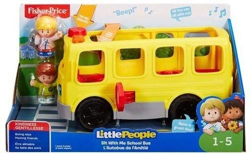 Fisher-Price Little People Sit with Me School Bus (People-spielzeug-bus Little)