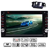 "Die besten EinCar Doppel-din Autoradios - EinCar 6.2"" Doppel-DIN-Touchscreen im Schlag Bluetooth Auto-Stereo-MP3-Audio-Video-DVD-CD-Player FM-AM Bewertungen"