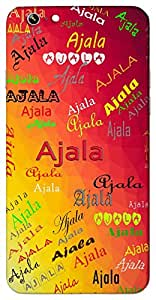Ajala (Popular Girl Name) Name & Sign Printed All over customize & Personalized!! Protective back cover for your Smart Phone : Samsung Galaxy Note-3