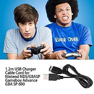 Momorain 1,2 m USB-Ladekabel für Nintend NDS/GBASP Gameboy Advance GBA SP 600 SPIELKONSOLE USB LINE