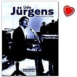 Udo Jürgens – Seine größten Erfolge für Klavier, Gesang und Gitarre - Songbook mit mit bunter herzförmiger Notenk