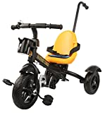 #10: Baybee Deigo Tricycle with Parent Control -Seat Belt (Black)