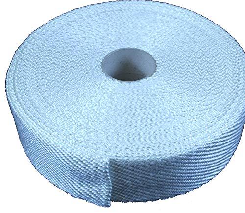 Glasgewebeband 100x3 mm Weiß -