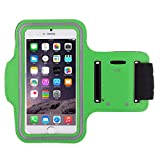 Shot Case Sports Armband/Case for Wiko Freddy Green
