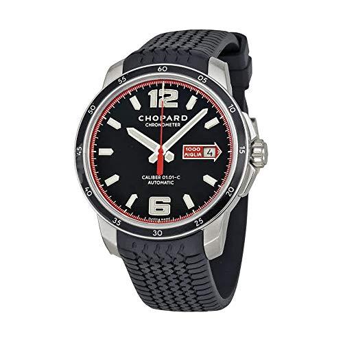 Chopard mille miglia GTS automatico nero quadrante mens orologio 168565–3001