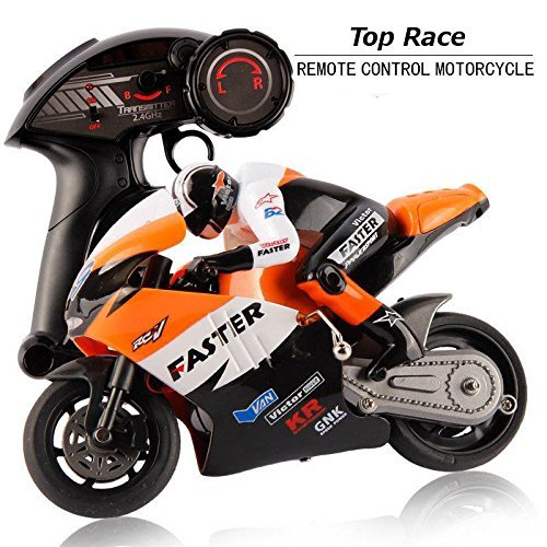 Top Race Motocicleta teledirigida, 2,4GHz RC