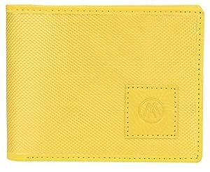 MarkQues Yellow Tetoron Men's Wallet (MR-4411)