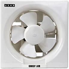 Usha Crisp Air 150 mm Exhaust Fan (Pearl White)
