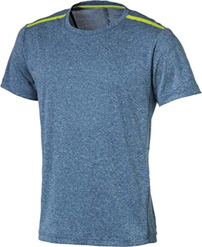 ENERGETICS H-T-Shirt Malin 901 Blue Petrol/Melange - XXL