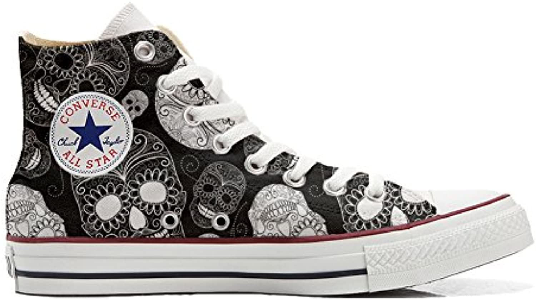 mys Converse All Star Customized Unisex   Personalisierte Schuhe (Handwerk Produkt) Paisley Size 40 EU