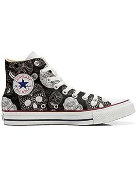 Converse All Star zapatos personalizadas Unisex (Producto Artesano) Paisley