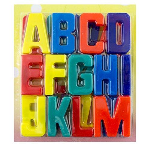 Hand® magnetische Alphabet Buchstaben, ABC Lernen Spaß machen - für Kühlschränke und jeder magnetischen Oberfläche - volle A-Z enthalten 3,5 CM (Abc-großbuchstaben Alphabet-magnete)
