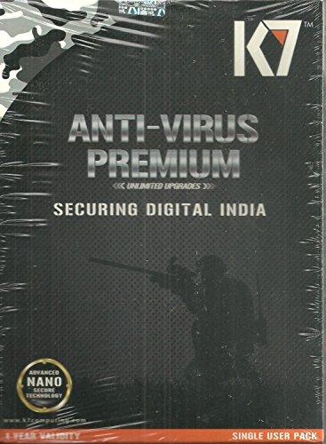 K7 Antivirus Premium latest Version 2017 1user 1year Renewal Or...