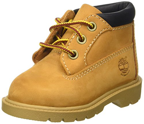 Timberland Waterproof, Klassische Stiefel, Beige (Wheat), 22 EU (5 Child UK) (Baby Timberland Boots)