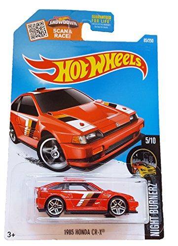 Hot Wheels, 2016 Night Burnerz, 1985 Honda CR-X [Red] #85/250 by Hot Wheels