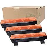 3 x TN-1050 Toner 1.500 Seiten für Brother HL-1110, HL-1112, HL-1210W,DCP-1510, DCP-1512,DCP-1612W, MFC-1815, MFC-1910W Schwarz