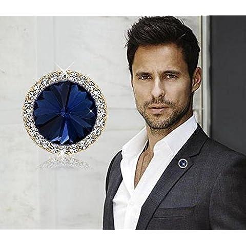 Nuovi uomini di Pin, moda personalizzata spille, bracciali di cristallo, di moda per donna bracciale uomini Vestito Decorazioni del panno Badges - Personalizzati Pin Badge